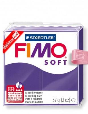FIMO - Fimo Soft Polimer Kil - Hamur - 63 Plum - 57 gr