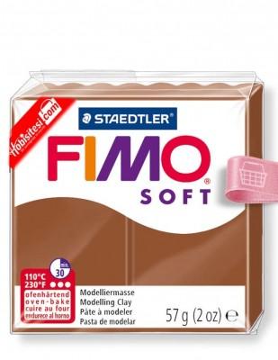 FIMO - Fimo Soft Polimer Kil - Hamur - 7 Caramel - 57 gr