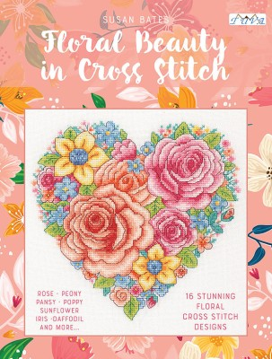 TUVA - Floral Beauty in Cross Stitch
