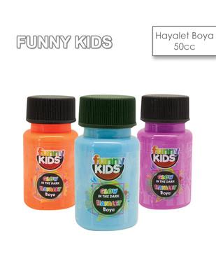RICH - Funny Kids Glow In Dark, Hayalet Boyalar - Parlayan Boya - 50 cc