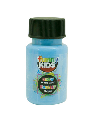 RICH - Funny Kids Glow In Dark, Hayalet Boyalar - Parlayan Boya - 50 cc (1)