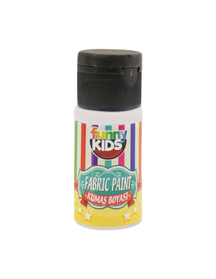 RICH - Funny Kids Fabric Paint, Kumaş Boyaları, Tüm Kumaş Çeşitleri İçin - 20 cc (1)