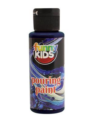 RICH - Funny Kids Pouring Paint, Hazır Akrilik Boyalar - 70 cc (1)