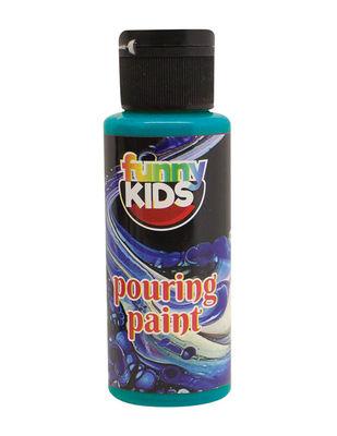 Funny Kids Pouring Paint, Hazır Akrilik Boyalar - 70 cc