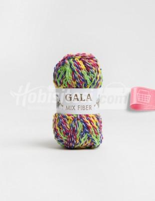 - Gala Mıx Fiber El Örgü İplikleri - 1 - 100 gr