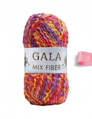 - Gala Mix Fiber El Örgü İplikleri - 12 - 100 gr