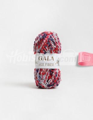 - Gala Mıx Fiber El Örgü İplikleri - 19 - 100 gr