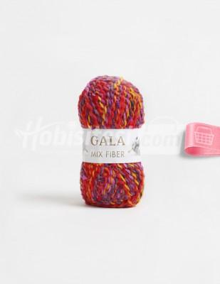 - Gala Mıx Fiber El Örgü İplikleri - 2 - 100 gr