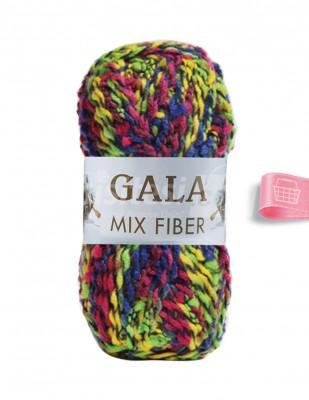 - Gala Mix Fiber El Örgü İplikleri - 3 - 100 gr