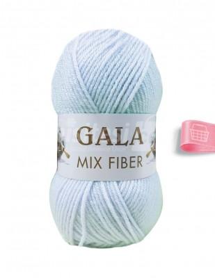 - Gala Mıx Fiber El Örgü İplikleri - Mavi - 100 gr