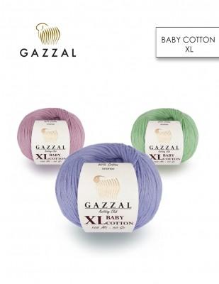 GAZZAL - Gazzal Baby Cotton XL El Örgü İplikleri