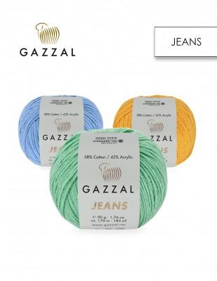 GAZZAL - Gazzal Jeans El Örgü İplikleri
