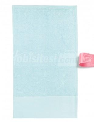 GLAMOUR - Glamour İşlemelik Havlular, Kapaklı, Bambu - 30 x 50 cm (1)