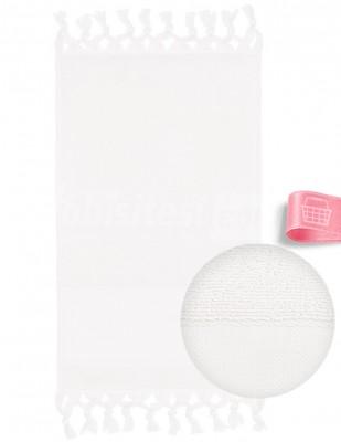 GLAMOUR - Glamour İşlemelik Havlular, Etaminli, Bağlamalı, Bukle - 30 x 50 cm (1)