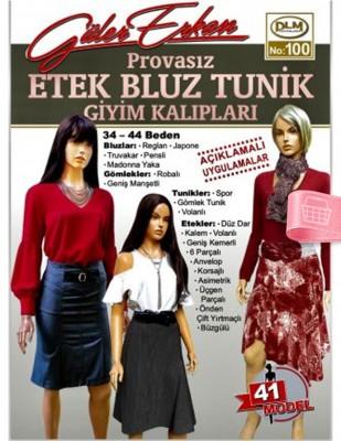 DİLEM YAYINLARI - Güler Erkan'la Provasız Giyim Kalıpları - Sayı 100