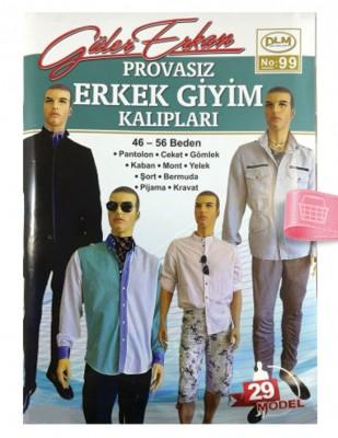 DİLEM YAYINLARI - Güler Erkan'la Provasız Giyim Kalıpları - Sayı 99