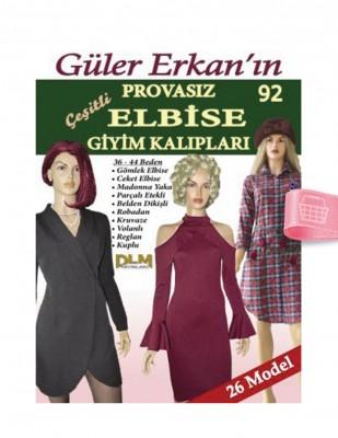 DİLEM YAYINLARI - Güler Erkan'la Provasız Giyim Kalıpları - Sayı 92