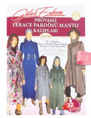 DİLEM YAYINLARI - Güler Erkan′la Provasız Giyim Kalıpları - Sayı 96