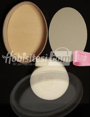 - Havluluk - (küçük) Oval 220 x 305 mm - Y: 60 mm