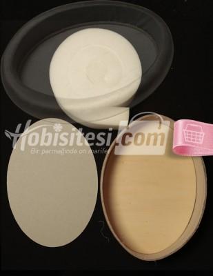 - Havluluk - (büyük) Oval 240 x 330 mm - Y: 60 mm