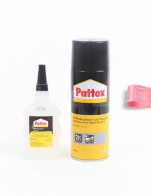 HENKEL - Henkel Pattex 2K Profesyonel Hızlı Yapıştırıcı - Şeffaf - 400 ml (1)