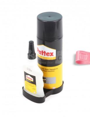 HENKEL - Henkel Pattex 2K Profesyonel Hızlı Yapıştırıcı - Şeffaf - 400 ml