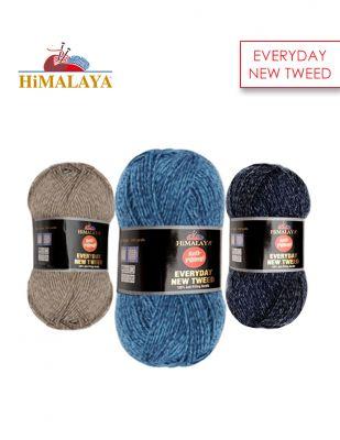 Himalaya EveryDay New Tweed El Örgü İplikleri