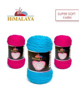 Himalaya Super Soft Yarn El Örgü İplikleri