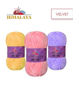 Himalaya Velvet El Örgü İplikleri