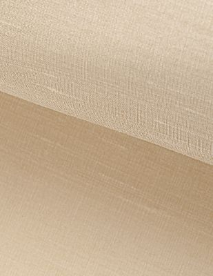 Hint İpeği İşlemelik Kumaş - Ekru - En 150 cm