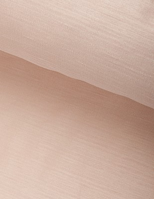 - Hint İpeği İşlemelik Kumaş - Pembe - En 150 cm