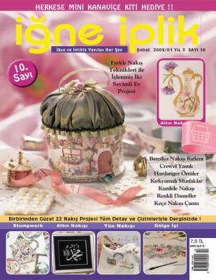 TUVA - İğne İplik Dergisi - Sayı 10