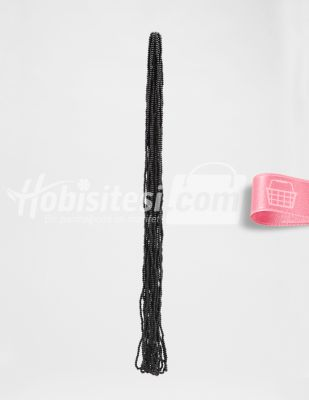 İnci - No 3 - Siyah - Çap 3 mm - 6 Dizi