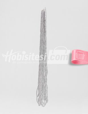 İnci - No 4 - Gümüş - Çap 4 mm - 6 Dizi