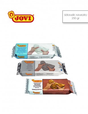 - Jovi Seramik Hamuru - Kil - 250 Gr