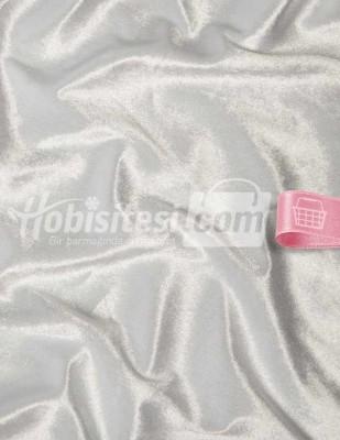 - Kadife Kumaş - Likralı - Beyaz - En 150 cm