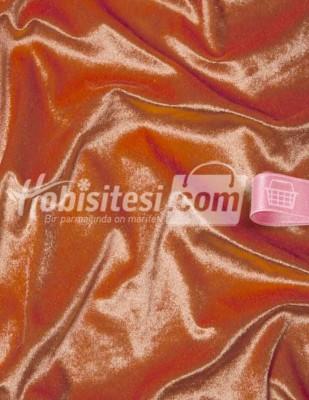 - Kadife Kumaş - Likralı - Turuncu - En 150 cm