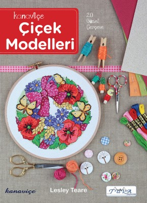TUVA - Kanaviçe Çiçek Modelleri