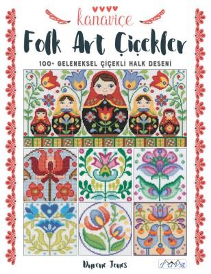TUVA - Kanaviçe Folk Art Çiçekler