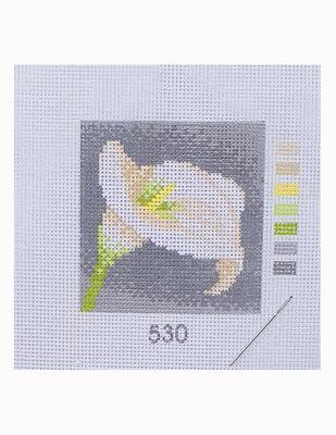 Kanaviçe Kiti, Mini Goblen - Baskılı Etamin, İplikler ve İğne - 8 x 8 cm - 530