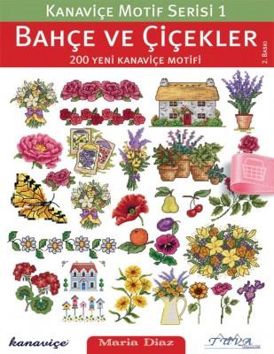 TUVA - Kanaviçe Motif Dergisi - Bahçe ve Çiçekler - Sayı1