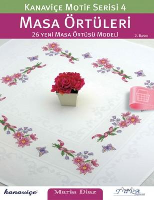 TUVA - Kanaviçe Motif Dergisi - Masa Örtüleri - Sayı 4