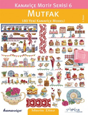 TUVA - Kanaviçe Motif Dergisi - Mutfak - Sayı 6
