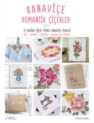 TUVA - Kanaviçe Romantik Çiçekler