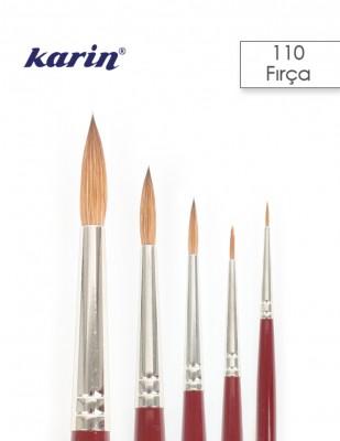 KARIN - Karin Da Vinci 110 Seri Çok Amaçlı Fırçalar - Tezhib, Minyatür, Sulu Boya