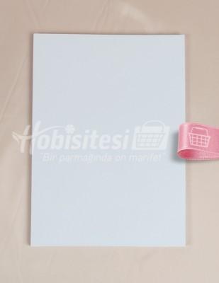 KARIN - Karin Ebru Kağıdı - 25 x 35 cm - Beyaz - 100 Adet