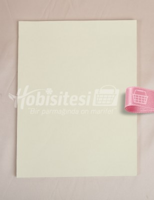 KARIN - Karin Ebru Kağıdı - 35 x 50 cm - Krem - 100 Adet