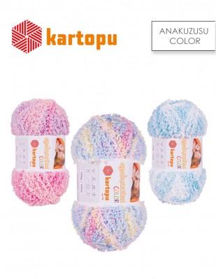 KARTOPU - Kartopu Anakuzusu Color El Örgü İplikleri