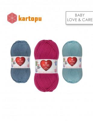 KARTOPU - Kartopu Baby Love & Care El Örgü İplikleri