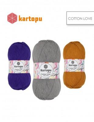 KARTOPU - Kartopu Cotton Love El Örgü İplikleri (1)